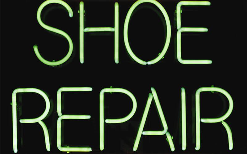 ซ่อมรองเท้า